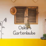 Dekoration der Geburtstagsecke Oskars Gartenlaube
