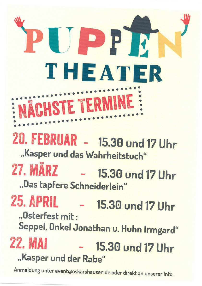 Puppentheater in Oskarshausen