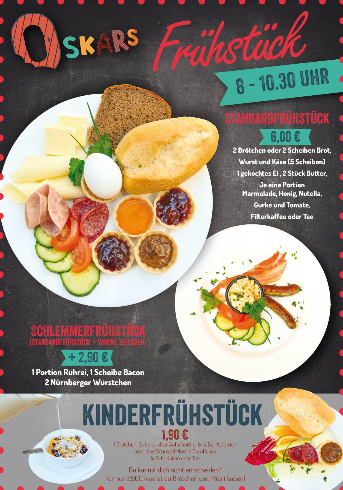 Oskarshausen Frühstück