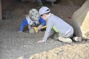 Schätze entdecken im Bergwerk von Oskarshausen