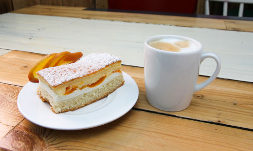Kaffeegedeck in Oskarshausen
