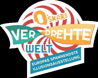 Oskars verdrehte Welt Logo