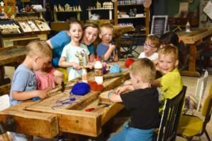 Holzwurmparty in Oskarshausen zur Kindergeburtstagsfeier Dresden