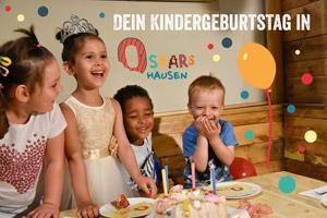 Feiere deinen Kindergeburtstag bei Dresden in Oskarshausen