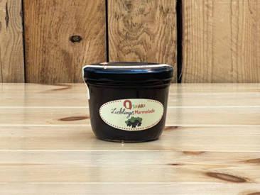 Oskars hausgemachte Lieblingsmarmelade mit fruchtiger schwarzer Johannisbeere