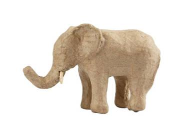 Gestalte deinen Pappmaché Elefanten
