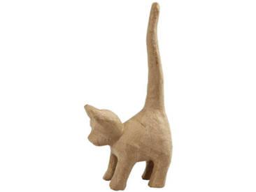 Gestalte deine Pappmaché Katze