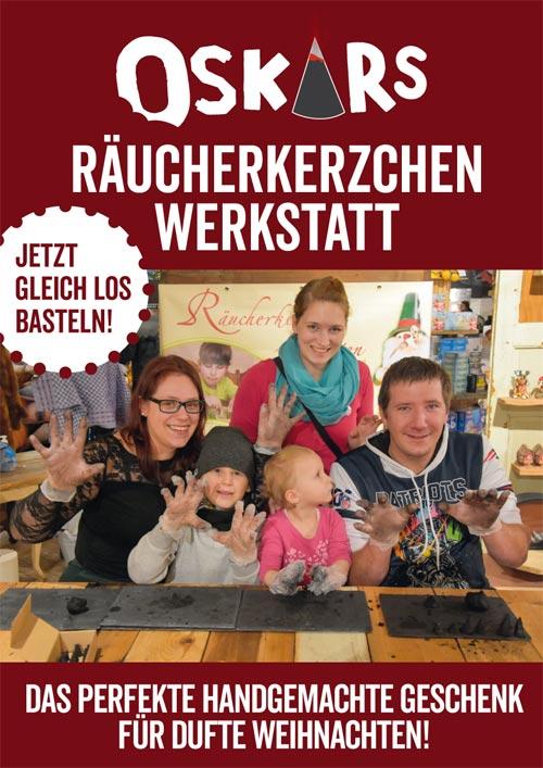 Räucherkerzenwerkstatt in Oskarshausen