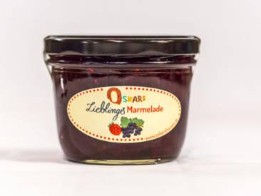 Oskars hausgemachte Lieblingsmarmelade mit fruchtigem Waldfruchtgeschmack