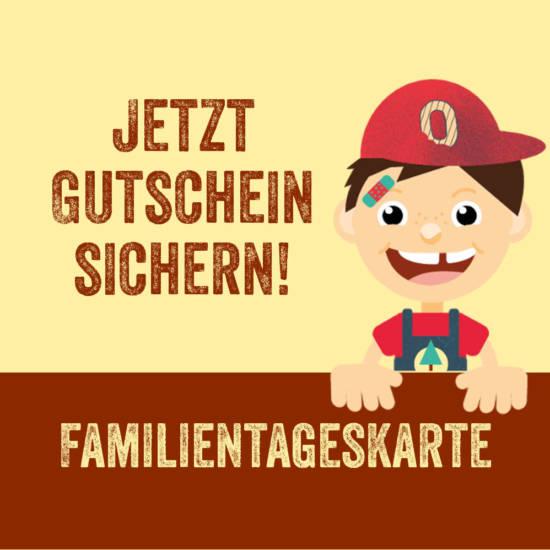 Bestelle Oskars Familientageskarte jetzt online für dich selbst oder als Geschenk für deine Liebsten.