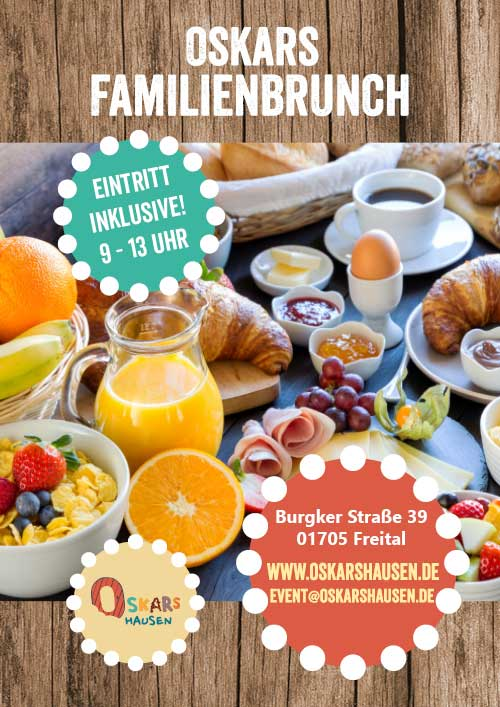 Familienbrunch in Oskarshausen
