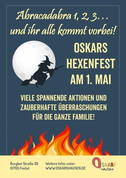 Oskars Hexenfest im Mai