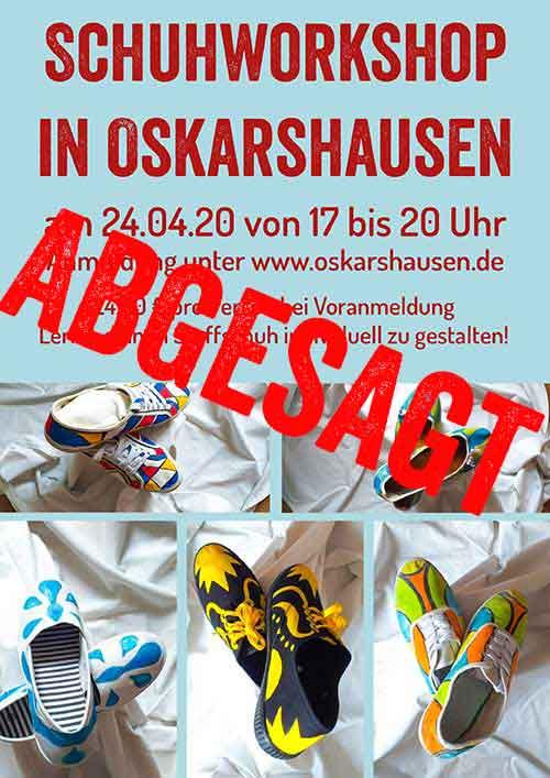 Schuhworkshop in Oskarshausen