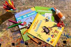 Lese- und Kreativbücher