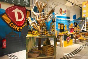 Dynamo Ecke in Oskarshausen für alle Schwarz–Gelb-Fans