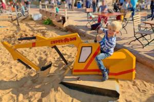Sandbagger für kleine Bauarbeiter in Oskarshausen