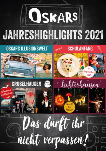 Oskars Jahreshighlights 2021