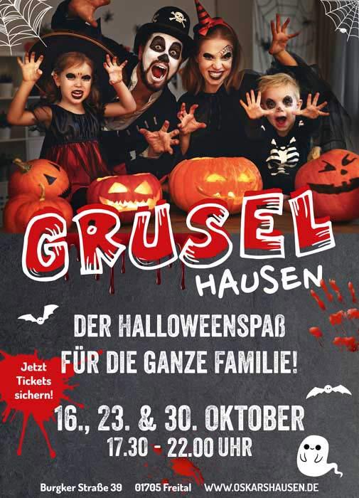 Halloween Dresden GRUSELhausen