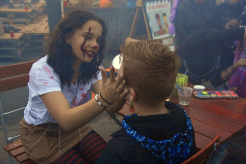 Face painting Halloween 2019